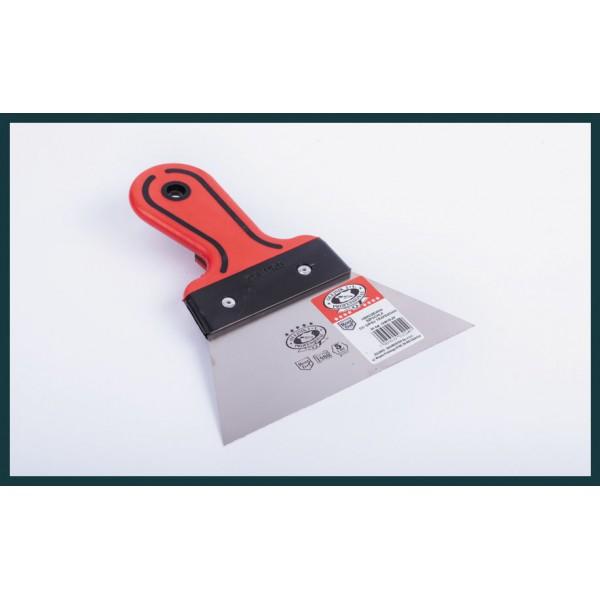 Нержавеющий шпатель для гипса - 2 КР 160мм